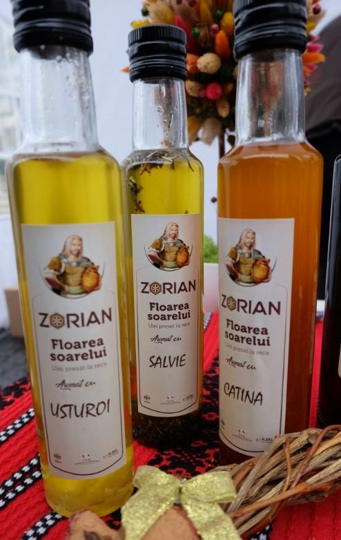 Zorian Mixuri ulei floarea soarelui Usturoi SalvieCatina